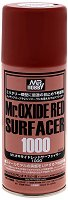 Спрей-грунд за пластмасови модели и макети - Mr. Oxide Red Surfacer 1000 - Флакон от 170 ml -