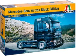 Камион влекач - Mercedes-Benz Actros Black Edition - Сглобяем модел -