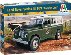 "Военен автомобил - Land Rover Series III 109 ""Guardia Civil"" - Сглобяем модел -"